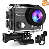 Crosstour 4K 16MP Action Camera WiFi...