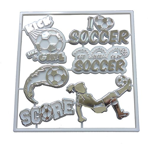 Soccer Female Player Pack - Silver