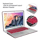 MacBook Air 13 Inch Case Bundle 5 in 1,iCasso Ultra