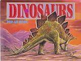 DINOSAURS POP-UP BOOK-ANKYLOSAURUS-OURANOSAURUS-STEGOSAURUS-ORNITHOMINUM-ACRHAEOPTERYX-DILOPHOSAURUS