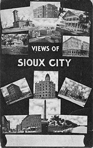 (Sioux City Iowa Historic Bldg Multiview Antique Postcard K89019)