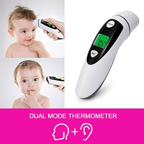 Remedy Health 2 in 1 Infrared Forehead and Ear Thermometer by OraCorp