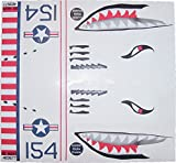 kitchen aid bullet - KA Mixer Cover Kit Flying Tiger Shark Plane Decal Sticker Red, White, Navy Blue, and Black, Designed to Fit All Kitchenaid Stand Mixers, Including Pro 600, and Artisan. Mixer Not Included.