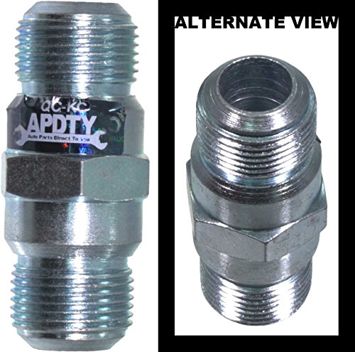 APDTY 028511 EGR (Exhaust Gas Recirculation) Tube To Exhaust Manifold Connector/Fitting (Replaces Ford F65Z9F485AA ; (Egr Fitting)