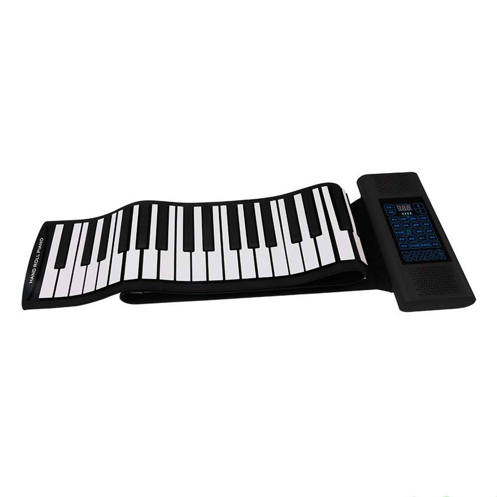 Sjqzba MIDI88 - Llavero con altavoz doble para piano y piano ...