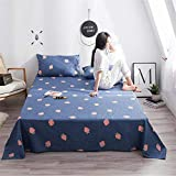 Cotton Padded Bed Simple Cotton Single Child Student Single Dormitory Bedding Blanket Gift Wholesale Home Textile Raspberry Blue 200230cm