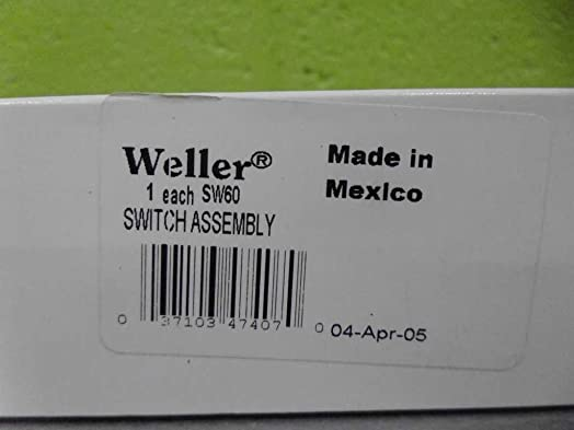 WELLER SW60 Switch Assembly