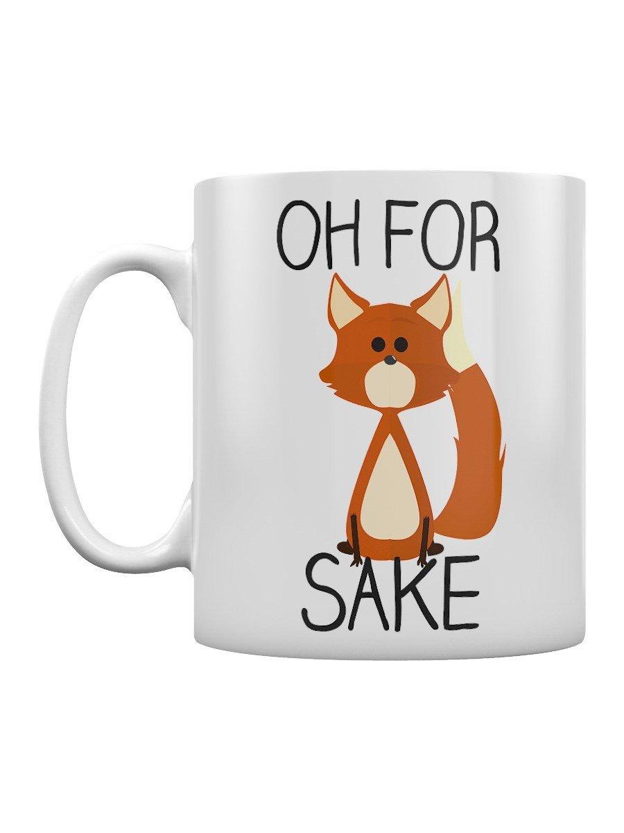 Oh For Fox Sake White Mug