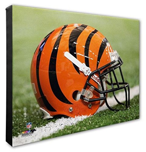 Photo File Cincinnati Bengals Team Helmet Canvas Print Picture Artwork 16x20 NFL