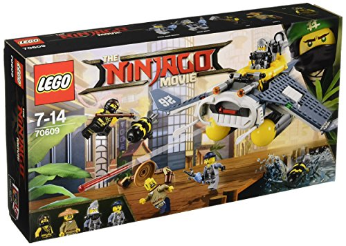 LEGO Ninjago Movie 70609 – Manta Ray Bomber