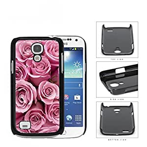 Bunch Of Pink Rose Flowers Hard Plastic Snap On Cell Phone Case Samsung Galaxy S4 SIV Mini I9190