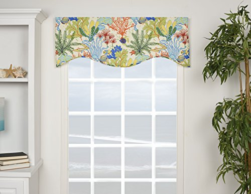 Breeze Window Valance - Victor Mill Island Breeze Shaped Valance