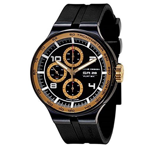 Porsche Design P'6360 Flat Six Men's Automatic Watch 636046441254