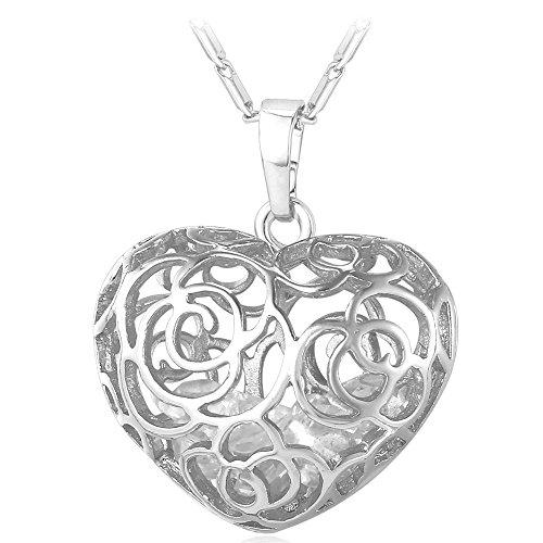 U7 Pendant Filigree Necklace Jewelry