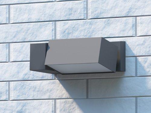 Philips border lampada da parete per esterno faro regolabile