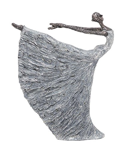 Deco 79 Poly-Stone Dancer, 12 by 16-Inch