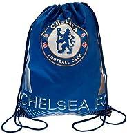 Chelsea FC Gym Bag (One Size) (Blue)