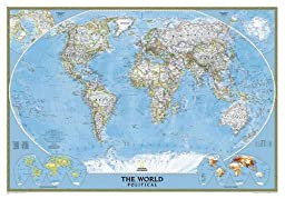 World Classic [Laminated] (National Geographic Reference Map)