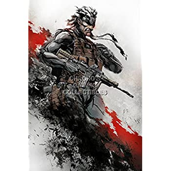 Amazon Com 1 X Metal Gear Solid Game Fabric Wall Scroll