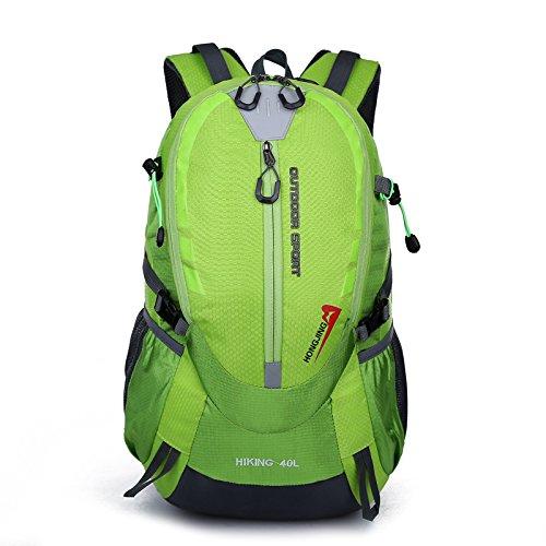 Mountaineering Bag Outdoor Männer und Frauen Schulter Rucksack nylon Wanderpackage Bergsteigen Taschen , Tage blau