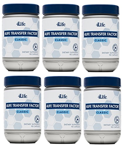 Transfer Factor Classic 90 capsules Pack of 6 by 4Life