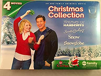 abc family christmas collection holiday in handcuffs snow santa baby 2 snowglobe - Abc Family Original Christmas Movies