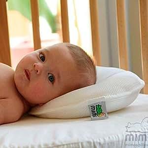 Mimos- Almohada para bebé tamaño XXL- PARA BEBÉ DE 6 A 18 MESES