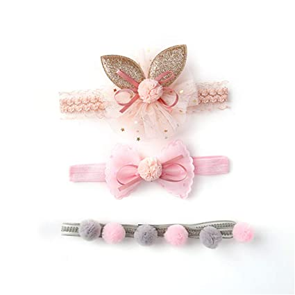 b03a331eff1c 3pcs Cute Crown Assorted Pink Princess Headwear Hair Accessories Gift Set  Baby Girls Hair Clips Barrettes