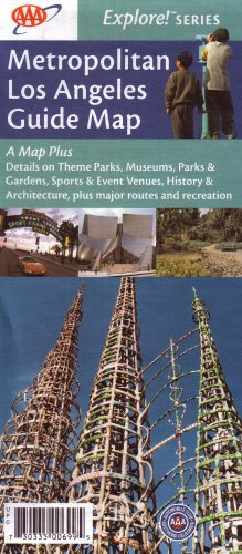 eles Guide Map: A Map Plus Details on Theme Parks, Museums, Parks & Gardens, Sports & Event Venues, History & Architecture, Plus M ()