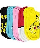 Pokémon Pokemon BoysCatch Em All 5-Pack Ankle Socks