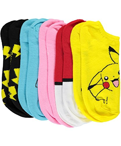 Pokemon-Boys-Catch-Em-All-5-Pack-Ankle-Socks