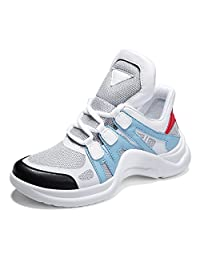 No.66 Town Women's Men's High-top Mesh Athletic Running Shoes Gym Jogging Lover Sneakers