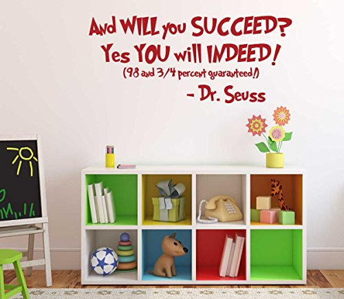 Dr Seuss Quotes Wall Decal Vinyl Decor
