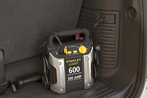 stanley 450 amp jump starter how to use
