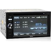 Jensen Vm9125 In-dash Double DIN 6.2 Touchscreen Vm Cd/dvd/mp3 Car Stereo Receiver w/ Monitor & Ipod Controls
