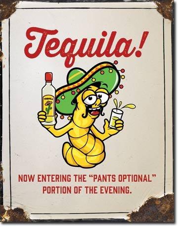 Empire Interactive Tequila Pants Optional Cartel de Chapa ...