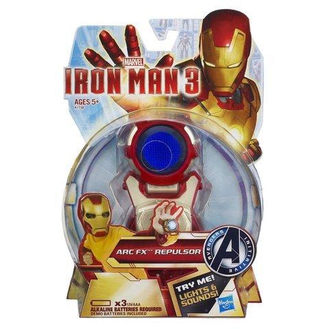 Plastic Iron Man Costume (Game / Play Marvel Iron Man 3 ARC FX Wrist Repulsor Gear. Light, Plastic, Sound, Costume, Armor Toy / Child / Kid)