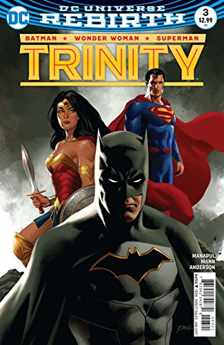 Epting Cover - Trinity (2016) #3 VF/NM Epting Cover DC Universe Rebirth