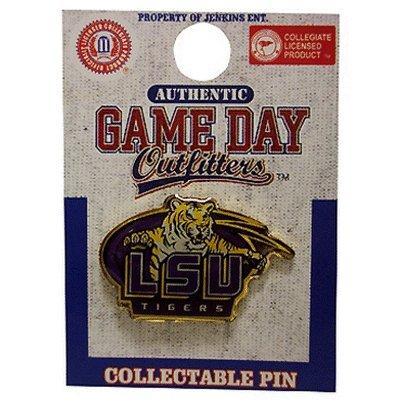 LSU Tigers Team Logo Lapel Pin - NCAA Tuxedo Tie (Lsu Tigers Pins)