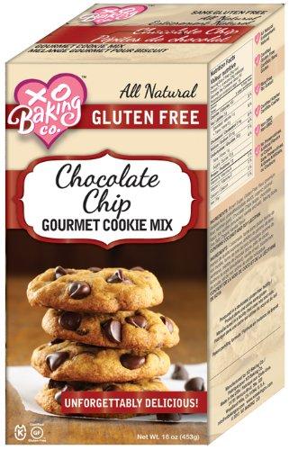 XO BAKING Gluten Free Chocolate Chip Cookie Mix 453g