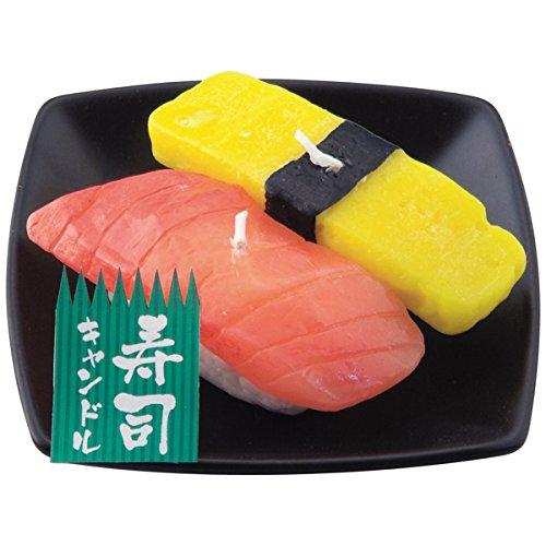 A sushi candle set ()