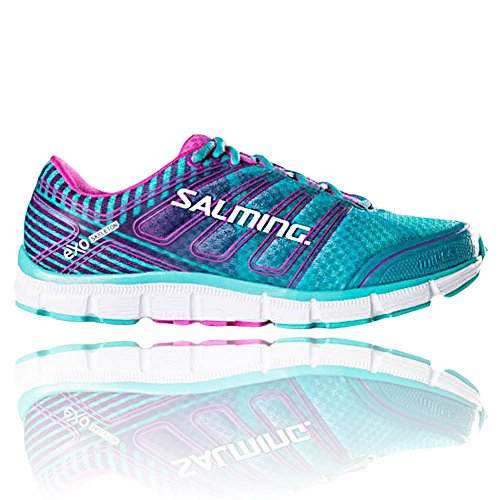 Shoe High Turquosie Women's Running Fabric Pink Ankle Salming Miles Wqv7wftqY