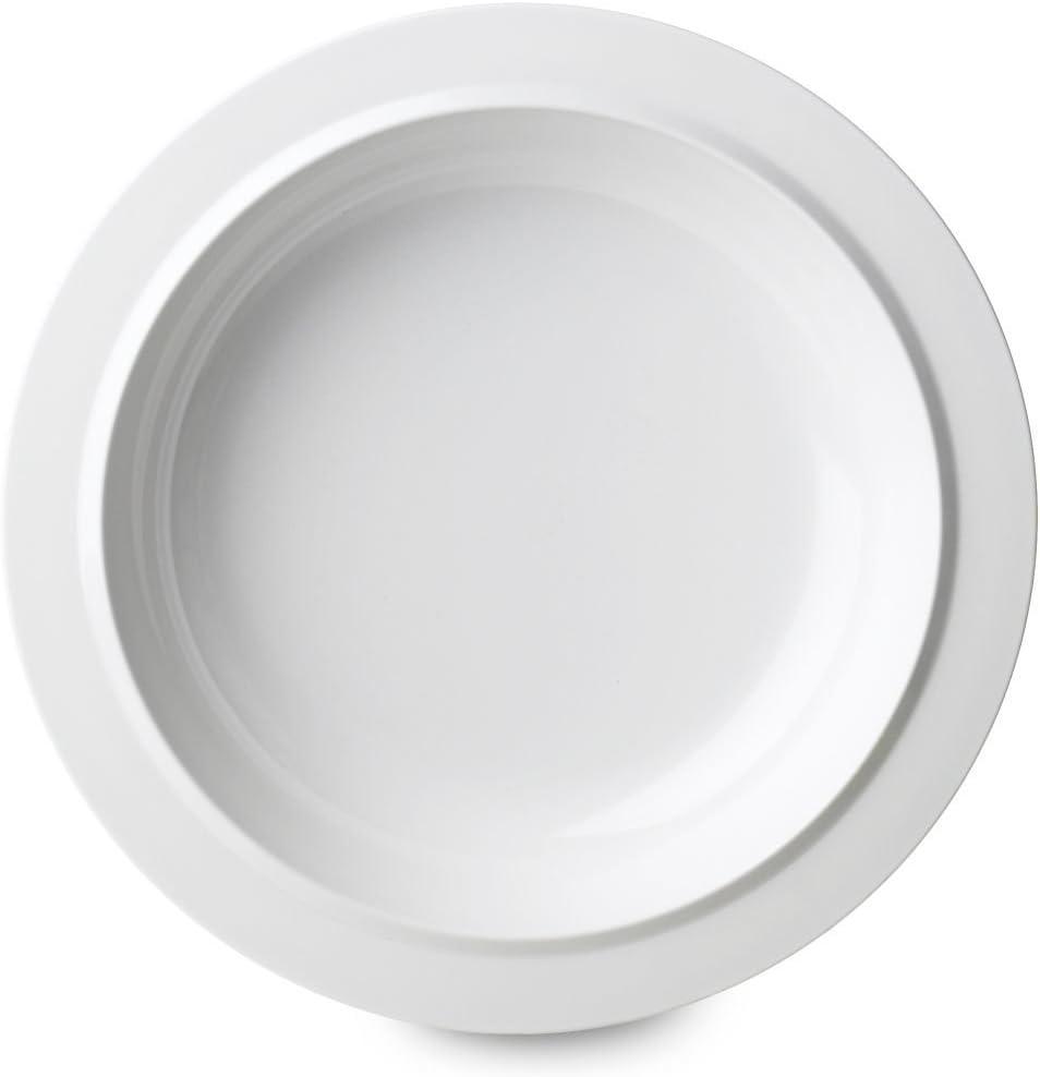 Rosti Mepal Teller aus Melamin leicht und widerstandsf/ähig D195/wei/ß