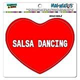 MAG-NEATO'S(TM) Car Refrigerator Vinyl Magnet I Love Heart Sports Hobbies R-S - Salsa Dancing