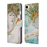 Official Stephanie Law Entertaining The Daydream Sea Creatures Leather Book Wallet Case Cover Compatible for iPhone 7 Plus/iPhone 8 Plus