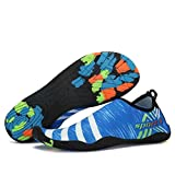 Male And Female Beach Outdoor Swimming Neutral Soft Beach Walk Lover Yoga Shoes Blue 6