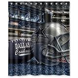 Great Custom Dallas Cowboys Shower Curtain 60x72 Inch High Quality Waterproof  Bath Curtains