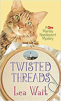 Book Twisted Threads (Mainely Needlepoint Mysteries)