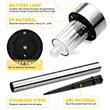 Solar Lights Outdoor, 12Pack Stainless Steel