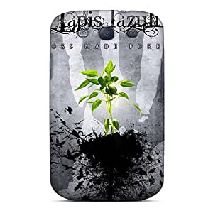 Shock-Absorbing Hard Phone Case For Samsung Galaxy S3 With Custom Trendy Eternal Oath Band Image SherriFakhry